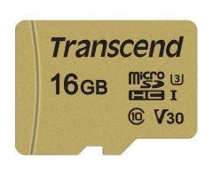 Памет Transcend 16GB microSDHC I, Class 10, U3, V30, MLC with