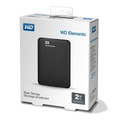 HDD 2TB USB 3.0 Elements Portable Black